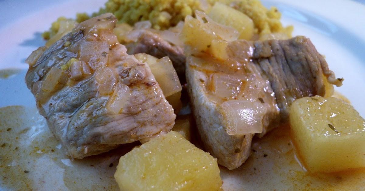 Dey cuisine porc l 39 indienne ananas facile rapide - Cuisine indienne facile rapide ...