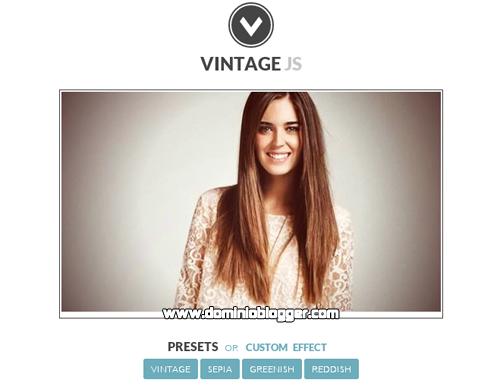 Dale un toque retro o vintage a tus fotos con VintageJS
