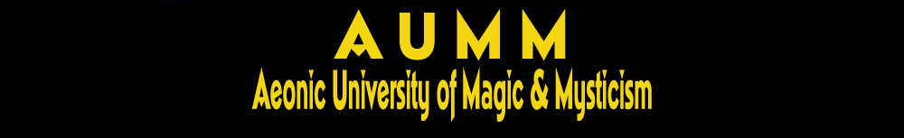 AUMM - Aeonic University of Magic & Mysticism