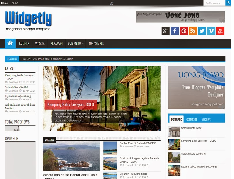 widgetly responsive magazine blogger template amazing blogger templates. Black Bedroom Furniture Sets. Home Design Ideas