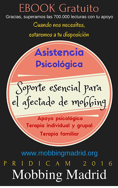 EBOOK Gratuito: Asistencia Psicológica, soporte esencial para el afectado de mobbing