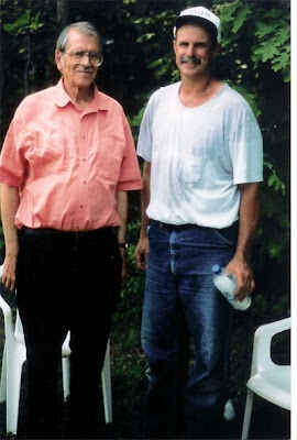 Dr. Lloyd Zurbrigg and Mike Lockatell