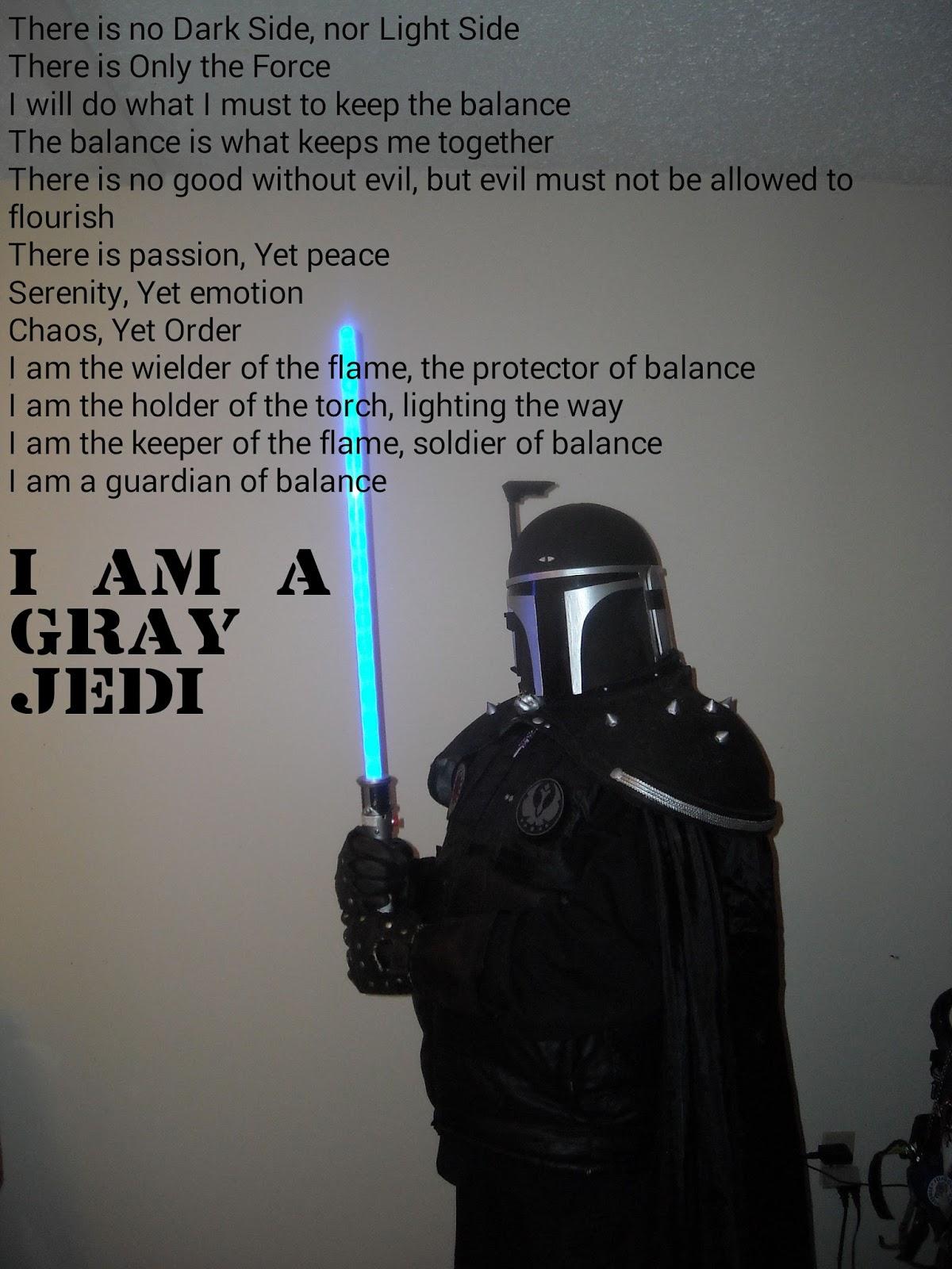 Gray Jedi Wallpaper The Gray Jedi Code