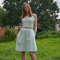 Princess seam dress