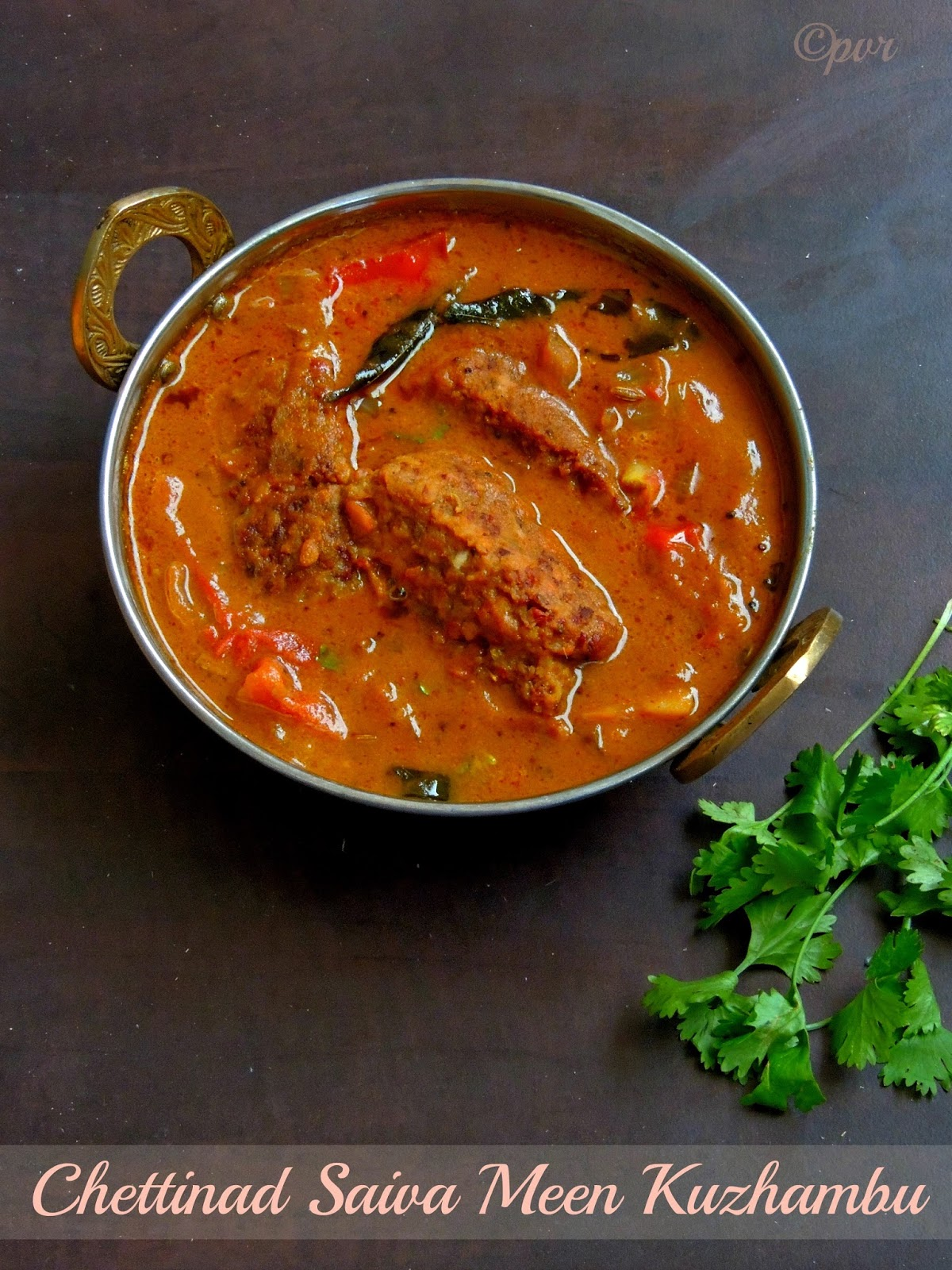 Priyas versatile recipes chettinad saiva meen kuzhambuvegetarian chettinad saiva meen kuzhambuvegetarian fish gravy forumfinder Gallery