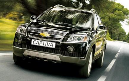 Cho thuê xe Chevrolet Captiva 7 chỗ