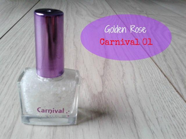 Zimowo lakierowo - Golden Rose Carnival 01 .