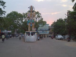 Hanuman Idol, Berhampur, Ramalingam Tank, Rama Lingam Tank