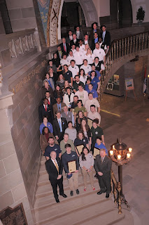 Members of the Washington Conservation Corps and AmeriCorps recognized by the House of Representatives in Olympia