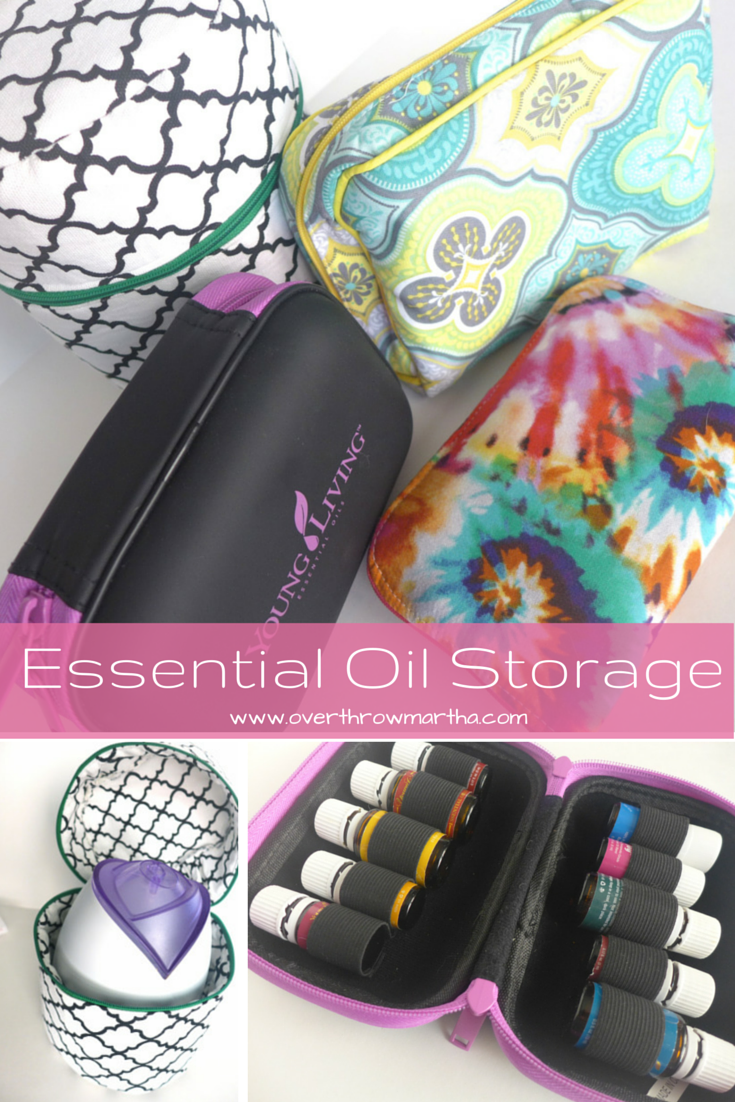 Essential Oil Storage Solutions #yleo