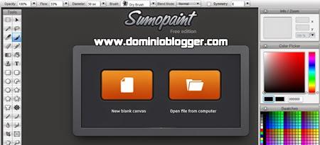Edita tus fotografías online con SumoPaint