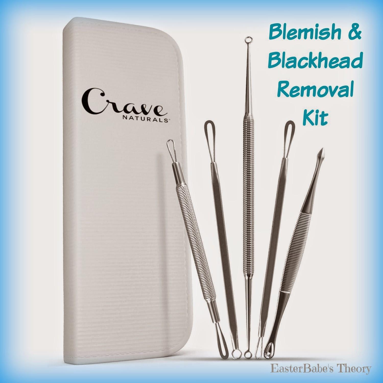 Crave Naturals Blemish Acne Blackhead Remover Tool Kit