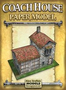 10 paginas de paper craft de escenografia Daves