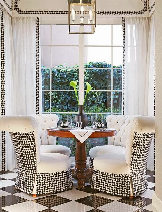 blog.oanasinga.com-interior-design-ideas-breakfast-area-black-and-white-checkerboard-diamond-floor-houndstooth-pattern