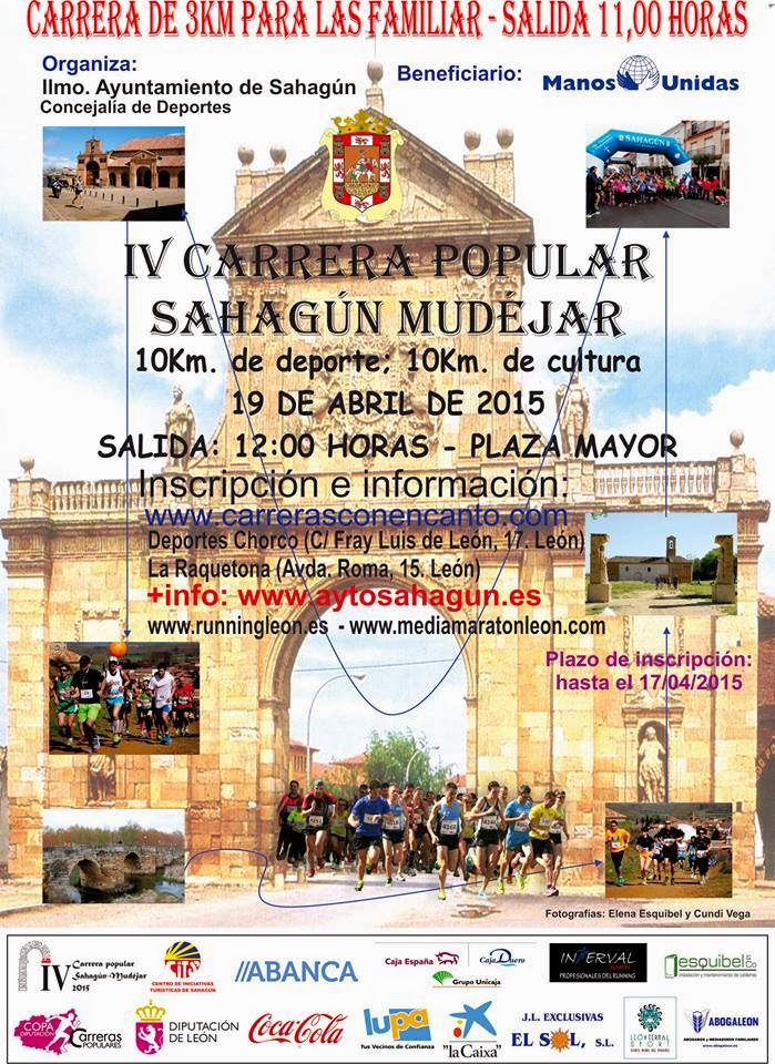 carrera popular sahagun mudejar