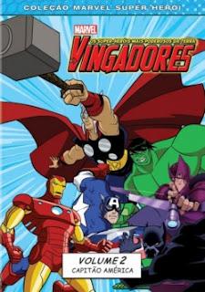 Baixar Filme Os Vingadores: Capitão América! - Vol. 2 DVDRip Dublado