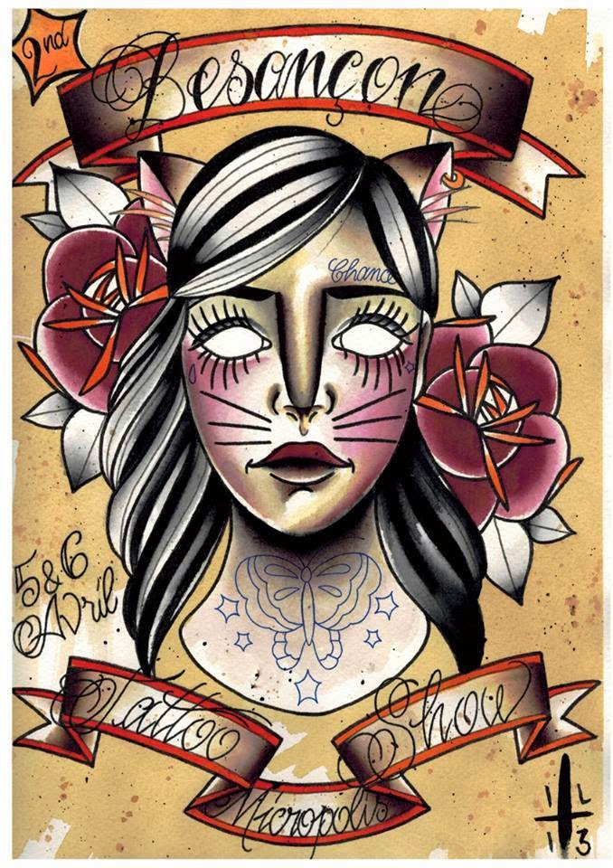 MONDIAL DU TATOUAGE 2016 Paris • 6 7 8 MARS 2016 - convention tatouage france