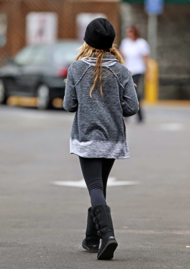 Ugg Australia Bailey Button Triplet Boot - Ashley Tisdale