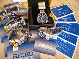 SEIKO DIVER SUMO BLUE DIAL - SEIKO SBDC003 - AUTOMATIC 6R15 - BRAND NEW WATCH
