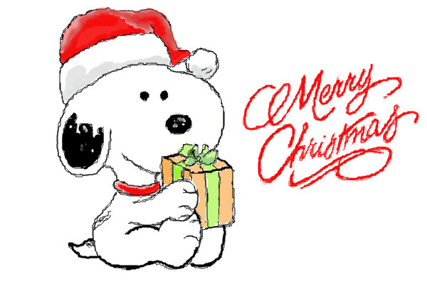 merry christmas - Snoopy Merry Christmas