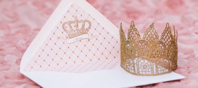 Princesa Rosa {dia de festa} - convite / reprodução internet