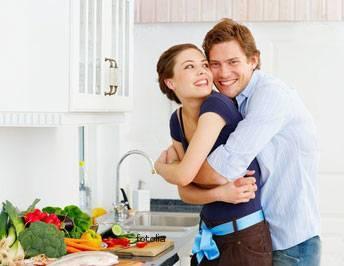 الاستمتاع بالجنس فى الزواج..يبدأ بتنظيف المطبخ !!!!
