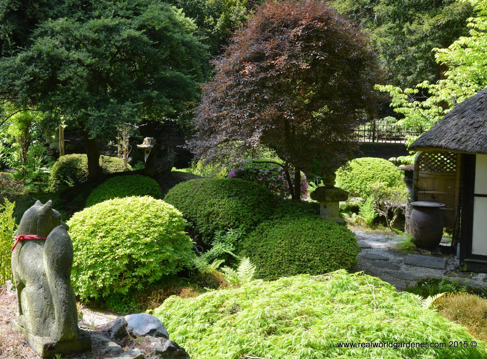 Real world gardener oriental themes in design elements for Garden design podcast