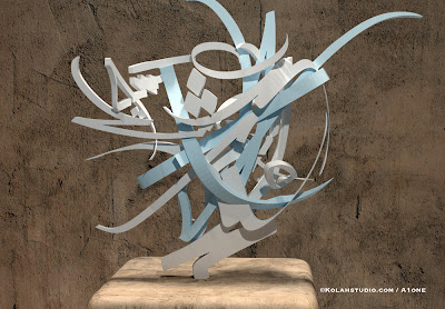Sculpture_Calligraphy