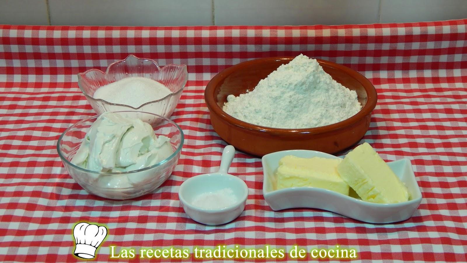 Receta de galletas de mantequilla con queso azul