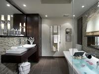 اضاءة الحمامات بالمنزل