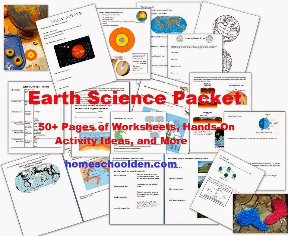 Homeschool Earth Science Unit Study