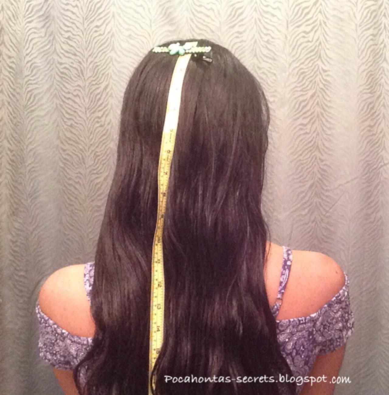 Pocahontas Hair Secrets Length Check June 2015