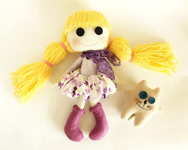 Кукла Катя и питомец Котя