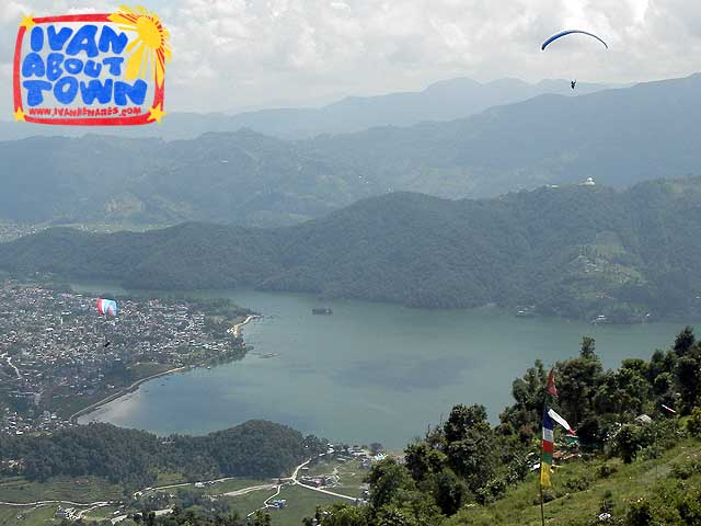 Paragliding in Pokhara Nepal Tour