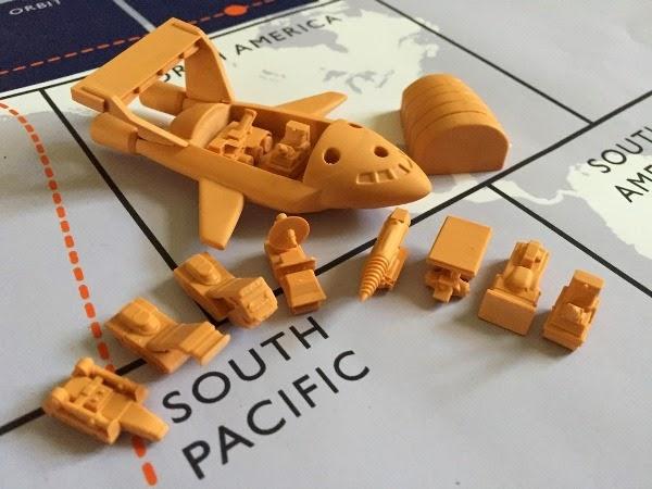 Thunderbirds Vehicle Miniatures Prototypes