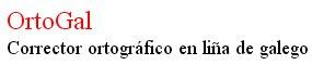 Corrector galego