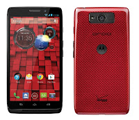 Motorola Droid Ultra Black & Red