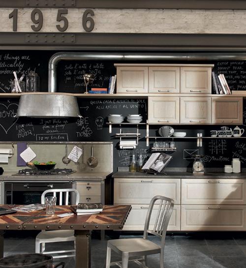 Decoraci n de interiores cocinas de estilo vintage por - Estilo de cocinas ...