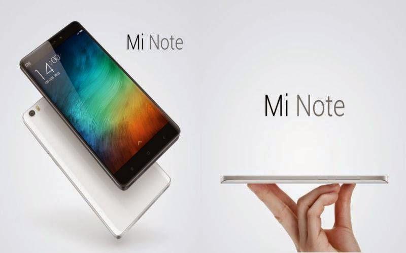 Mi Note Plus, Smartphone Baru Xiaomi RAM 4 GB
