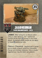Jagdherman Dust Warfare Card - Front