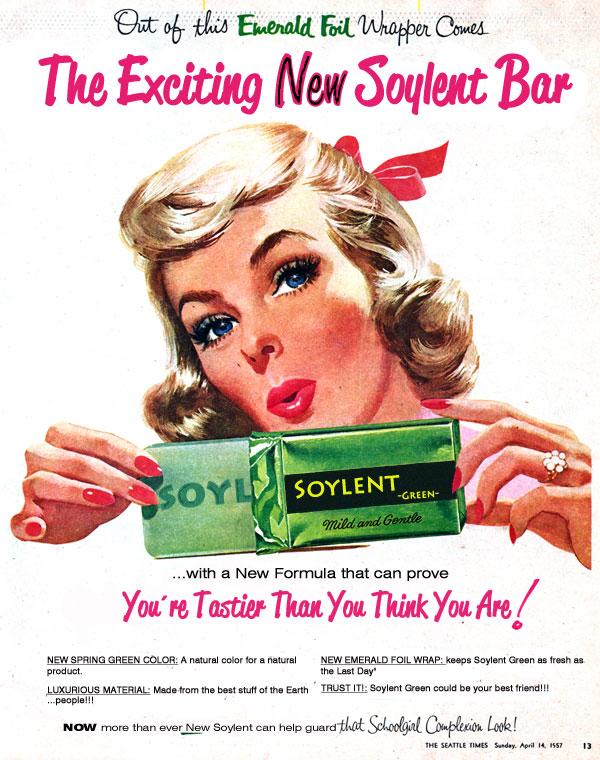 Tom bennett 39 s school report soylent green is teachers for Soylent green