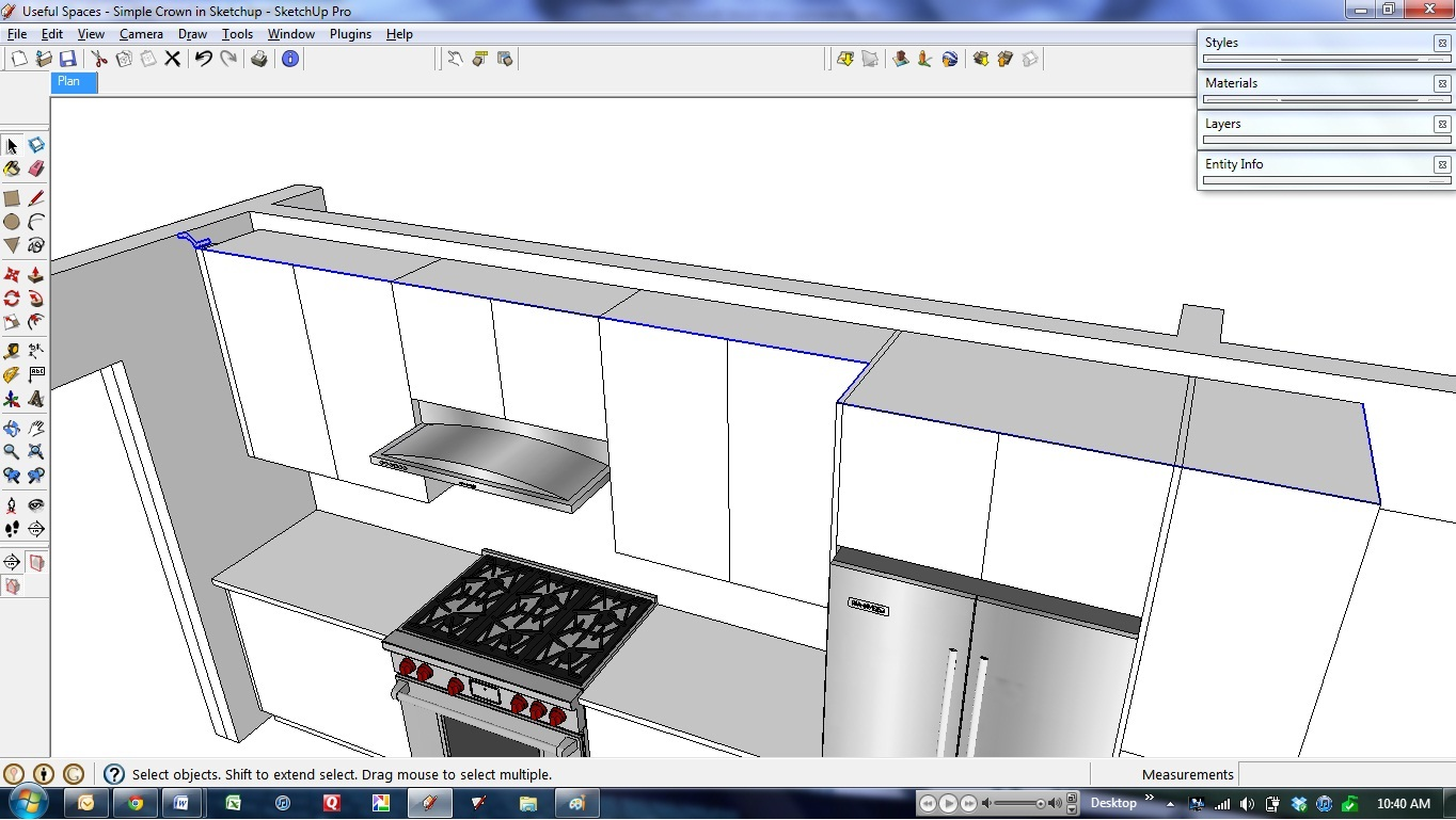 Sketchup cabinet plugin Kitchen design software google sketchup