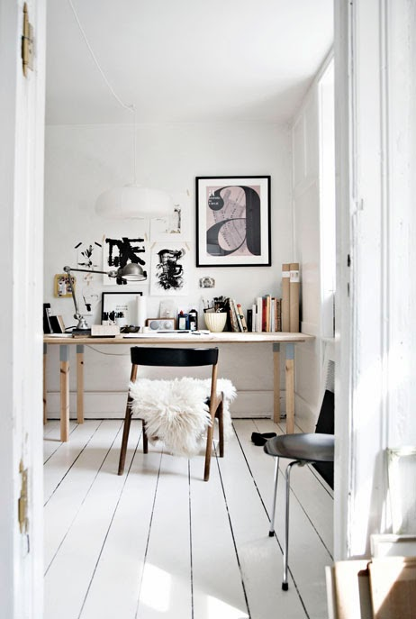 Creative workspace - Louise Breyen