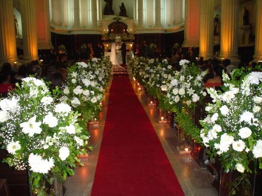 Enfeite De Igreja ~ Mara Flores& Festas Ornamentaç u00e3o de casamento