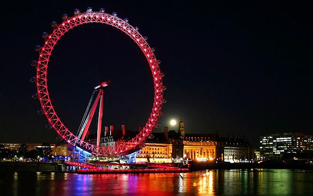 عين لندن من أشهر معالم العاصمة السياحية