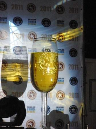 Балаклава.День рождения Шампанского.Самый большой в мире бокал в книге рекордов Гинесса