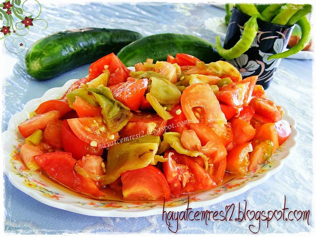 Acı Biberli Köz Patlıcan Salatası Tarifi Videosu