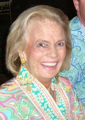 Liza Pulitzer Pleasing Lilly Pulitzer Populer Socialite And Fashion Designer  Gossip Styles Decorating Inspiration