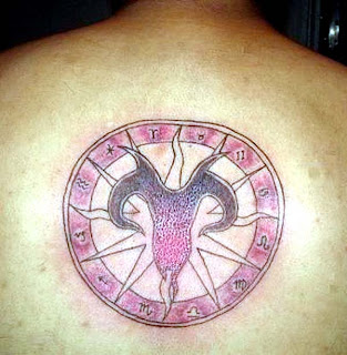 Zodiak Tattoos Gallery - Aries Tattoo