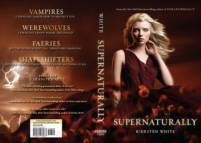 Novels On The Run: BOOK COVER RELEASE - SUPERNATURALLY by